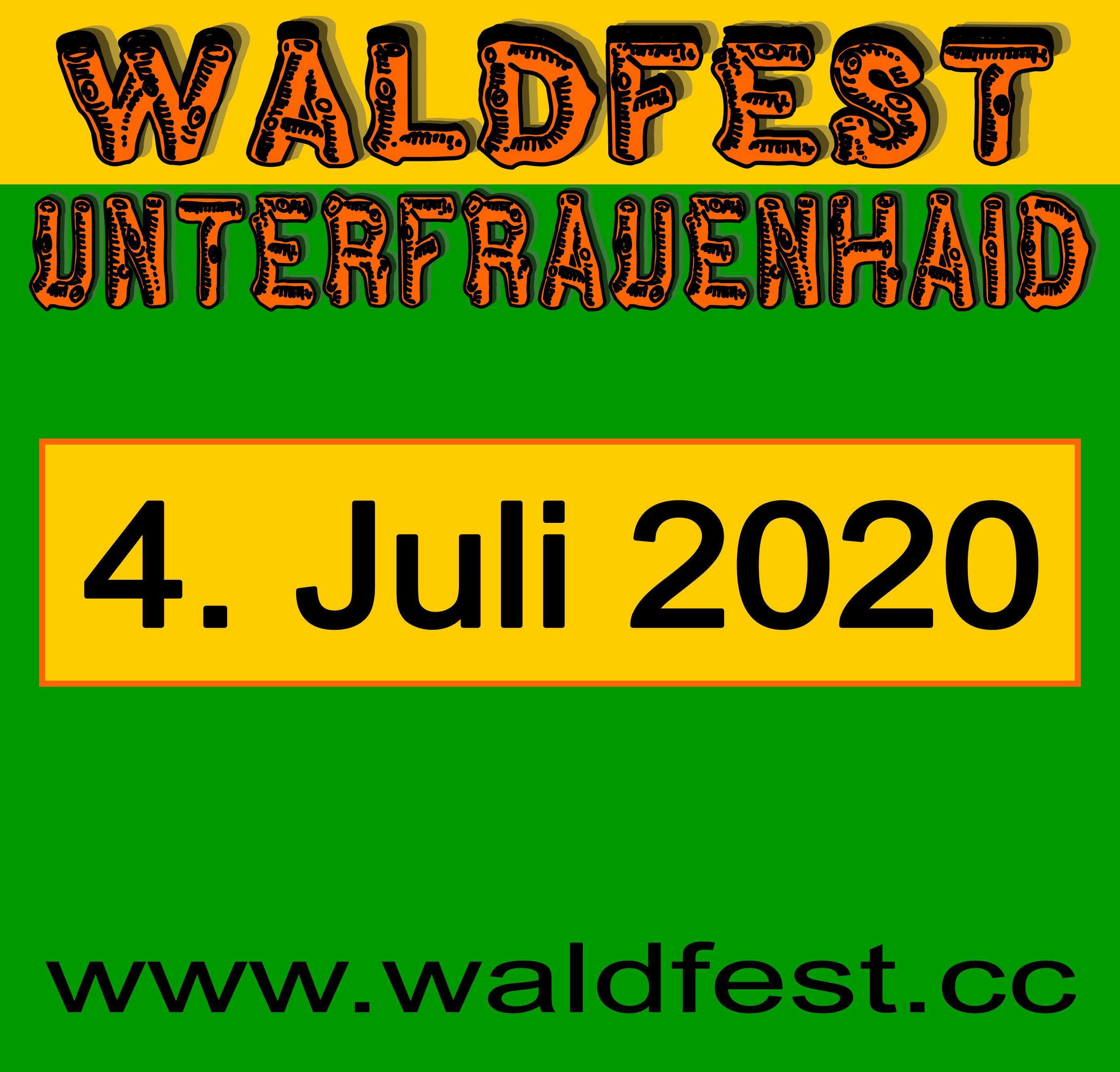 Waldfest Termin 2020